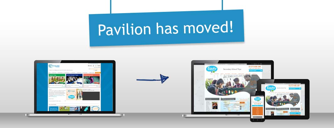 Pavilion has moved!